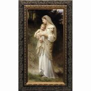 L'Innocence - Ornate Dark Framed Wall Art