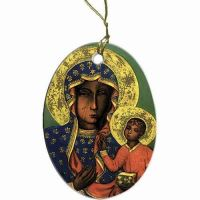 Our Lady of Czestochowa Ornament
