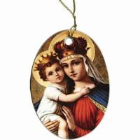 Our Lady of Good Remedy Ornament