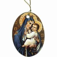 Our Lady of Mount Carmel Ornament
