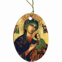 Our Lady of Perpetual Help II Ornament