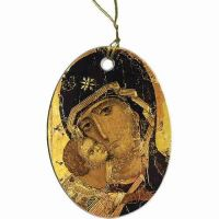 Our Lady of Vladimir Ornament