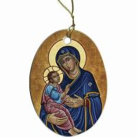 Our Lady of Good Health II Ornament