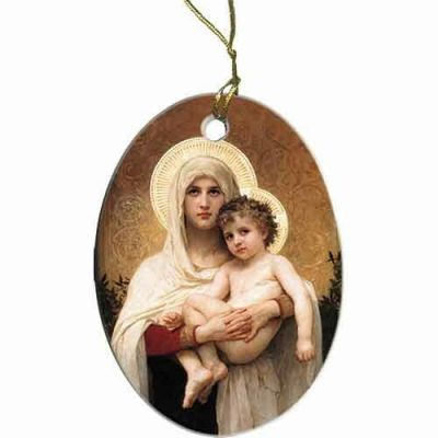 Madonna of the Roses II Ornament -  - ORN-550V