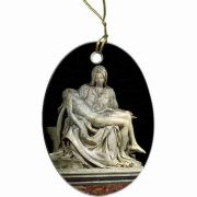 Pieta by Michaelangelo Ornament