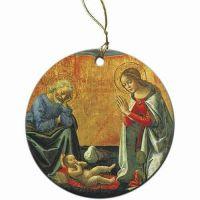 Nativity by Ghirlandaio Ornament