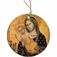 Our Lady of Bologna Ornament