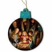 Adoration of the Christ Child (Special Needs) Ornament