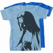 Our Lady of Fatima Full Color T-Shirt (Light Blue)