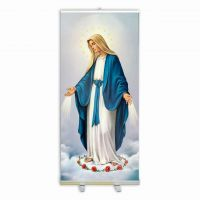 Our Lady of Grace Banner Stand