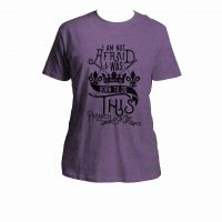 Born To Do This March For Life Purple T-Shirt