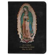 Personalized/Custom Bible  Our Lady/Virgin of Guadalupe Black RSVCE