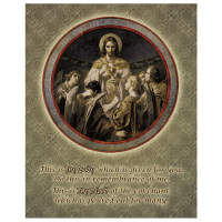 Bread of Angels (IHI Pattern) Wall Plaque