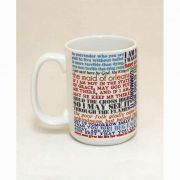 Saint Joan of Arc Quote Ceramic 15 Oz Mug