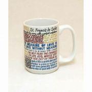 Saint Francis de Sales Quote Ceramic 15 Oz Mug