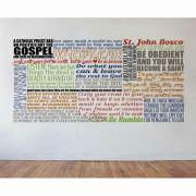 Saint John Bosco Quote Wall Decal