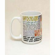 Saint Thomas Aquinas Quote Ceramic 15 Oz Mug