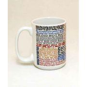 Saint Josemaria Escriva Quote Ceramic 15 Oz Mug