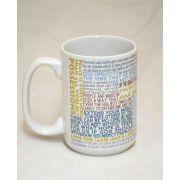 Saint Vincent de Paul Quote Ceramic 15 Oz Mug