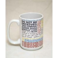 Saint Paul Quote Ceramic 15 Oz Mug