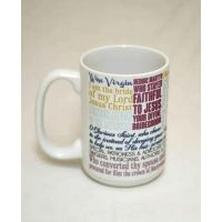 Saint Cecilia Quote Ceramic 15 Oz Mug
