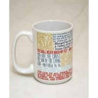 Saint Peter Quote Ceramic 15 Oz Mug