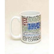 Saint Maximilian Kolbe Quote Ceramic 15 Oz Mug