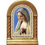 Our Lady of Fatima Prayer Desk Shrine