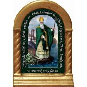 Saint Patrick Prayer Desk Shrine
