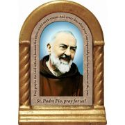 Saint Padre Pio Prayer Desk Shrine