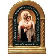 Madonna of the Roses Prayer Desk Shrine