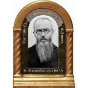 Saint Maximilian Kolbe Prayer Desk Shrine