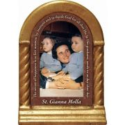 Saint Gianna Beretta Molla Prayer Desk Shrine