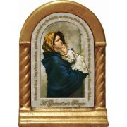 Madonna of Streets Godmother's Prayer Desk Shrine