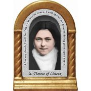 Saint Therese of Lisieux Prayer Desk Shrine
