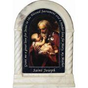 Saint Joseph (Older) Prayer Desk Shrine