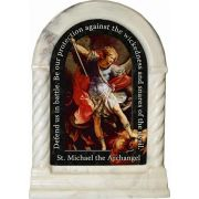 Saint Michael the Archangel Prayer Desk Shrine