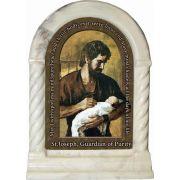 Saint Joseph, Guardian of Purity Prayer Desk Shrine