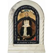 Saint Thomas Aquinas Prayer Desk Shrine