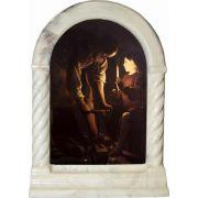 Saint Joseph the Carpenter Desk Shrine