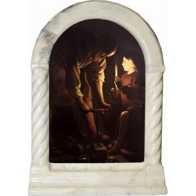 Saint Joseph the Carpenter Desk Shrine -  - SH-S1025