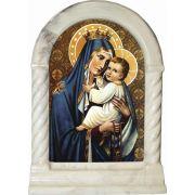 Our Lady of Mount Carmel Desk Shrine
