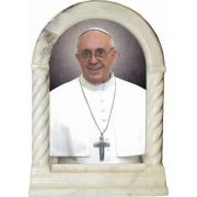 Pope Francis Formal Desk Shrine