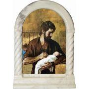 Saint Joseph Fatherhood Desk Shrine