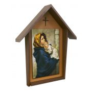 Handcrafted Deluxe Indoor/Outdoor Shrine