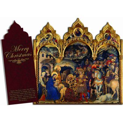Merry Christmas  Tri-fold Christmas Cards -  - STC-C3