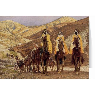 Journey of the Magi by James Tissot Christmas Cards (25 Cards) -  - STC-C112