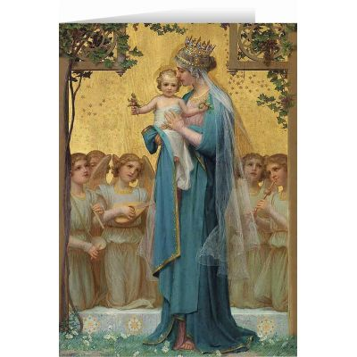 Madonna and Child by Enric M. Vidal Christmas Cards (25 Cards) -  - STC-C113