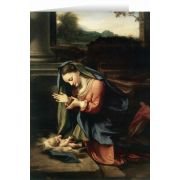 Madonna Worshiping the Child by Correggio Christmas Cards (25 Cards)
