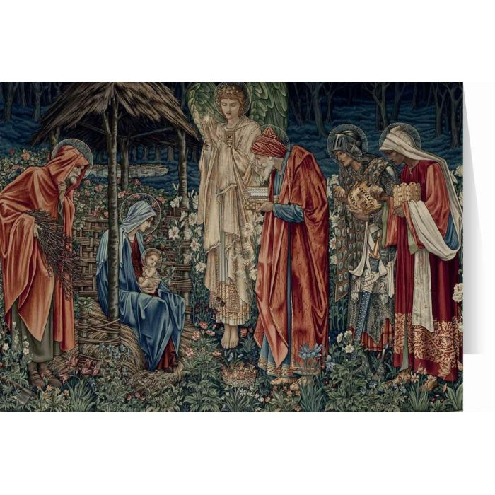 Catholic Christmas Cards.Adoration Of The Magi By Burne Jones Christmas Cards 25 Cards